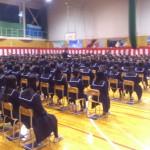 一中卒業式2